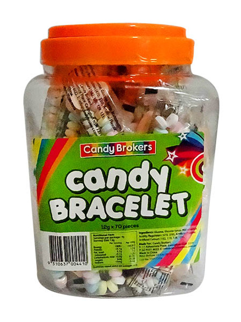 Candy Bracelet, by Candy Brokers,  and more Confectionery at The Professors Online Lolly Shop. (Image Number :10852)