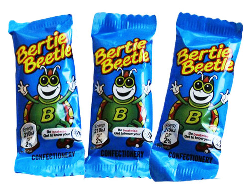 Bertie Beetle Bulk Carton and more Confectionery at The Professors Online Lolly Shop. (Image Number :10842)