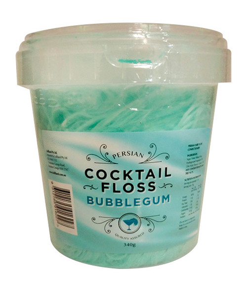Persian Cocktail Blue Fairy Floss - Bubblegum and more Confectionery at The Professors Online Lolly Shop. (Image Number :11344)
