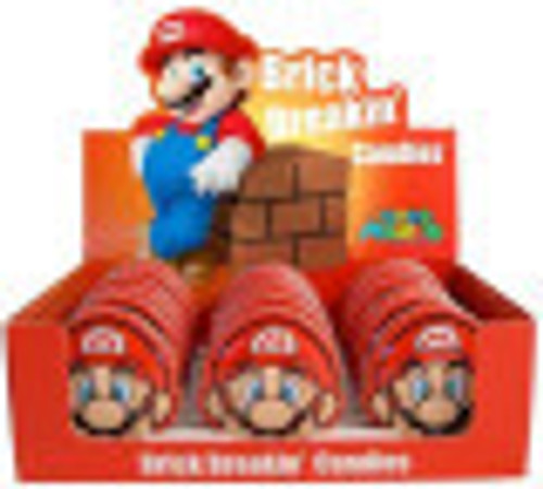 Super Mario Brick breakin  Candies and more Confectionery at The Professors Online Lolly Shop. (Image Number :10905)