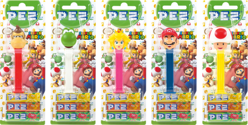 Pez Candy Dispensers - Nintendo, by Pez,  and more Confectionery at The Professors Online Lolly Shop. (Image Number :11087)