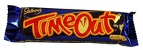 Cadbury Time Out Bars, by Cadbury,  and more Confectionery at The Professors Online Lolly Shop. (Image Number :10944)
