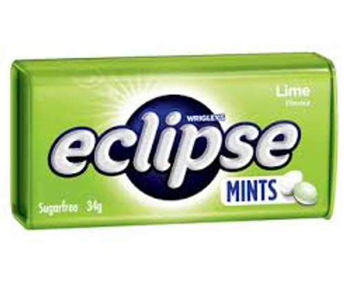 Eclipse Mints Lime and more Confectionery at The Professors Online Lolly Shop. (Image Number :10984)