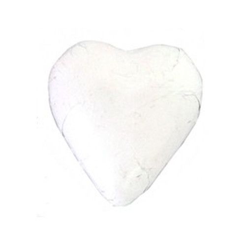 Belgian Milk Chocolate Hearts - White and more Confectionery at The Professors Online Lolly Shop. (Image Number :11054)