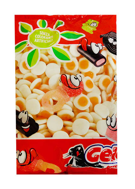 Gelco Mini Fried Eggs and more Confectionery at The Professors Online Lolly Shop. (Image Number :11241)
