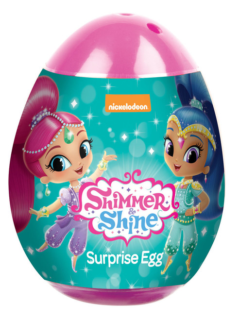 Surprise Eggs - Shimmer & Shine, by Kinnerton,  and more Confectionery at The Professors Online Lolly Shop. (Image Number :11587)