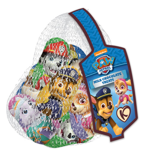 Fun Character Nets - Paw Patrol, by Kinnerton,  and more Confectionery at The Professors Online Lolly Shop. (Image Number :11857)