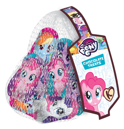 Fun Character Nets - My Little Pony, by Kinnerton,  and more Confectionery at The Professors Online Lolly Shop. (Image Number :11856)