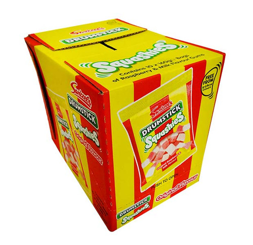 Swizzel Drumstick Squashies - Original, by Swizzels Matlow,  and more Confectionery at The Professors Online Lolly Shop. (Image Number :11512)