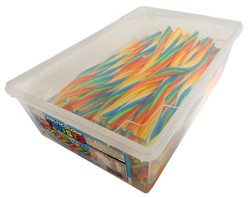 AIT Multicolour Twists, by Damel,  and more Confectionery at The Professors Online Lolly Shop. (Image Number :12733)