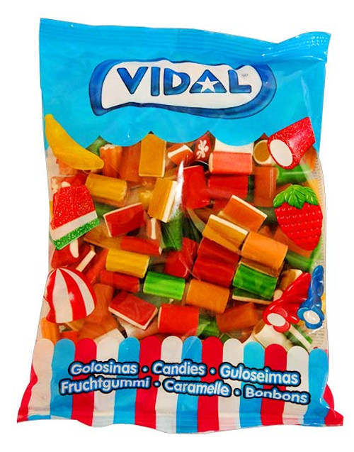 Vidal Funny Allsorts and more Confectionery at The Professors Online Lolly Shop. (Image Number :11622)