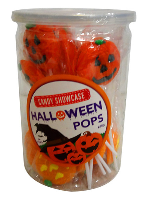 Candy Showcase Halloween Pops and more Confectionery at The Professors Online Lolly Shop. (Image Number :13800)