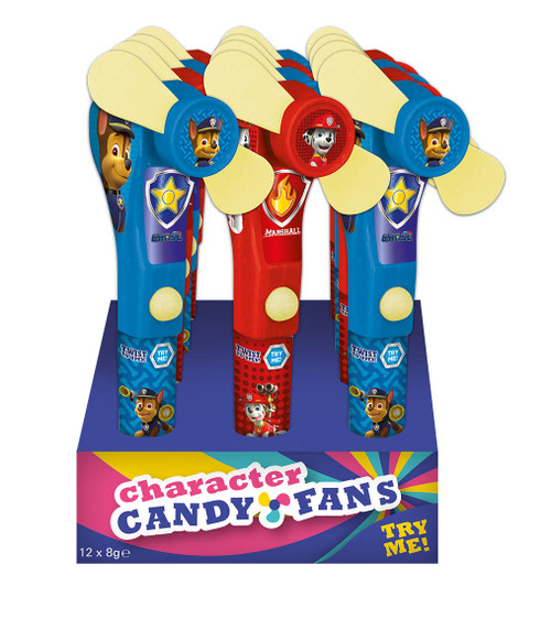 Paw Patrol Candy Fans, by Kinnerton,  and more Confectionery at The Professors Online Lolly Shop. (Image Number :11405)