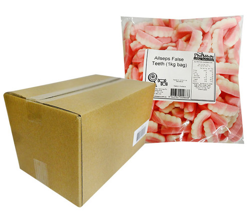 Allseps Bulk False Teeth, by Allseps,  and more Confectionery at The Professors Online Lolly Shop. (Image Number :12141)