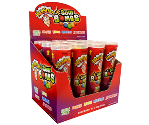 Warhead Extreme Sour Bombs, by Warheads,  and more Confectionery at The Professors Online Lolly Shop. (Image Number :11556)