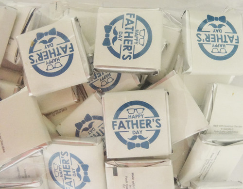 Father s Day Belgian Chocolate - Bulk - Happy Fathers Day and more Confectionery at The Professors Online Lolly Shop. (Image Number :12270)