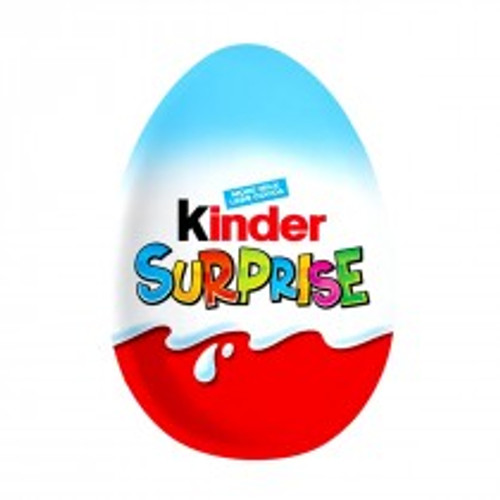 Kinder Surprise - Blue, by Kinder/Kinder Bueno,  and more Confectionery at The Professors Online Lolly Shop. (Image Number :11670)
