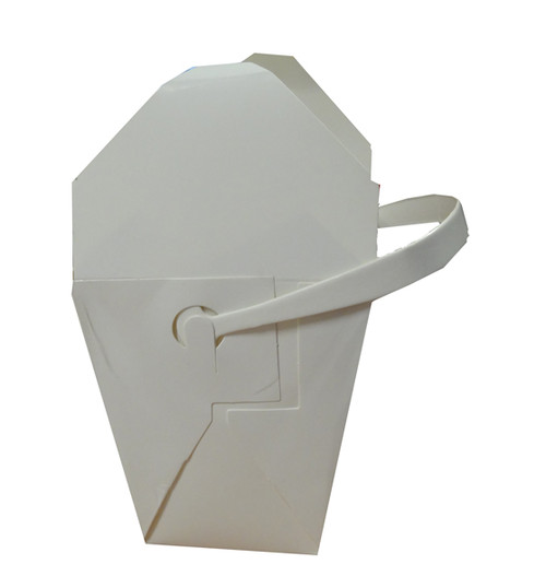 Large Food Pails / Noodle Boxes with Cardboard Handles and more Partyware at The Professors Online Lolly Shop. (Image Number :11778)