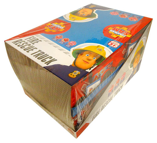 Fireman Sam Fire Truck with candy and more Confectionery at The Professors Online Lolly Shop. (Image Number :13048)