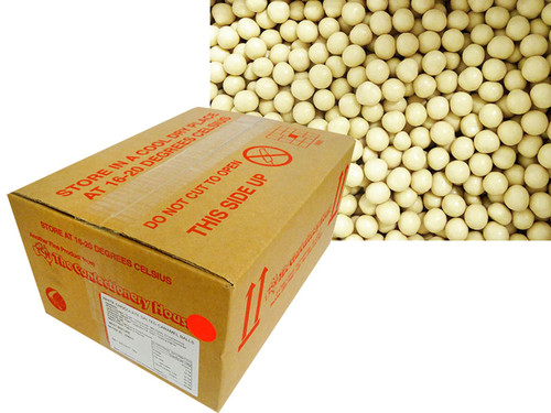 Premium White Chocolate Salted Caramel Balls and more Confectionery at The Professors Online Lolly Shop. (Image Number :14241)