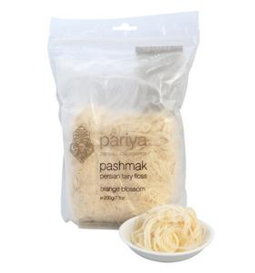 Pariya - Pashmak Persian Fairy Floss Orange Blossom and more Confectionery at The Professors Online Lolly Shop. (Image Number :11878)