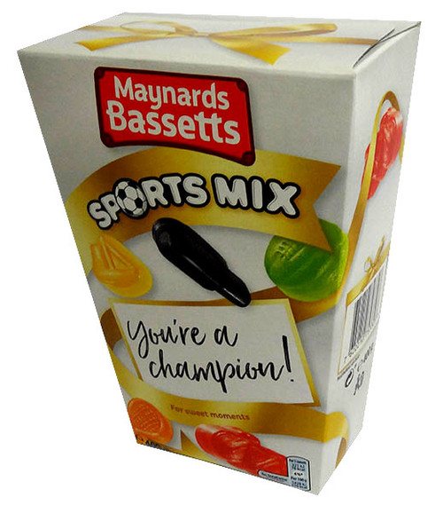 Maynards Bassetts - Sports Mix, by Maynard,  and more Confectionery at The Professors Online Lolly Shop. (Image Number :14129)