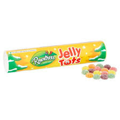 Rowntrees - Jelly Tots Tube, by Rowntrees,  and more Confectionery at The Professors Online Lolly Shop. (Image Number :11928)