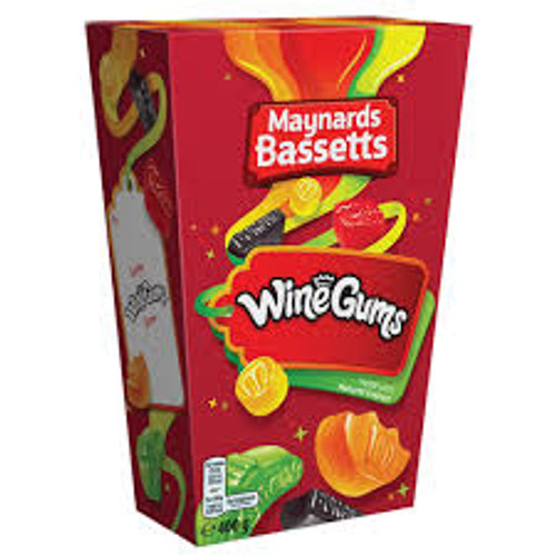 Maynards Bassetts - Wine Gums, by Maynard,  and more Confectionery at The Professors Online Lolly Shop. (Image Number :11948)