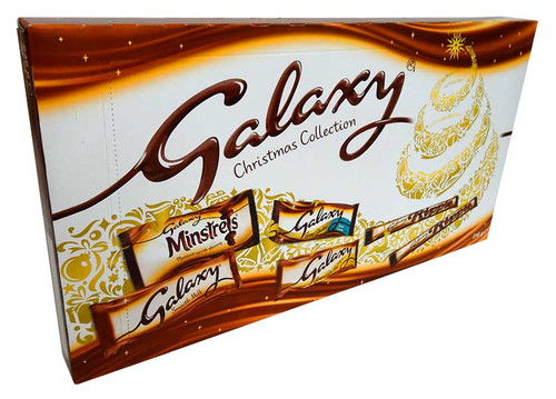 Galaxy Christmas Collection, by Mars,  and more Confectionery at The Professors Online Lolly Shop. (Image Number :13830)