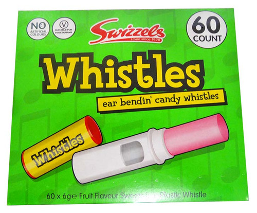 Swizzles Whistles, by Swizzels Matlow,  and more Confectionery at The Professors Online Lolly Shop. (Image Number :13007)