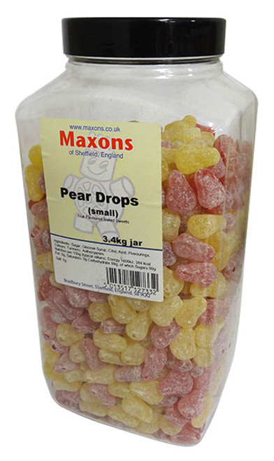 Maxons - Small Pear Drops and more Confectionery at The Professors Online Lolly Shop. (Image Number :14127)