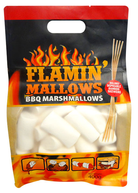 Flamin  Mallows - BBQ marshmallows and more Confectionery at The Professors Online Lolly Shop. (Image Number :12948)