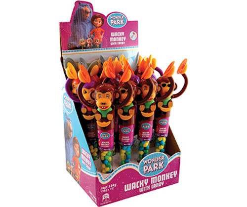 Wonder Park Wacky Monkey with Candy and more Confectionery at The Professors Online Lolly Shop. (Image Number :12353)
