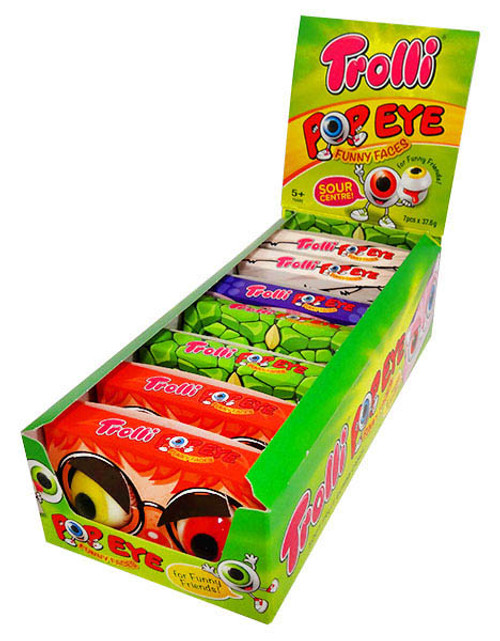 Trolli Pop Eye, by Trolli,  and more Confectionery at The Professors Online Lolly Shop. (Image Number :13286)