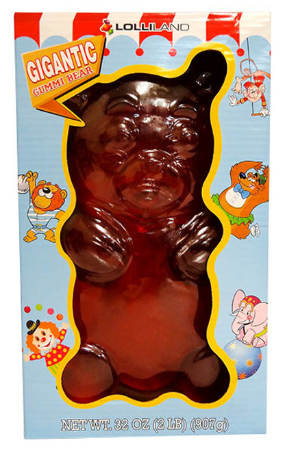 Gigantic Gummi Bear and more Confectionery at The Professors Online Lolly Shop. (Image Number :13062)