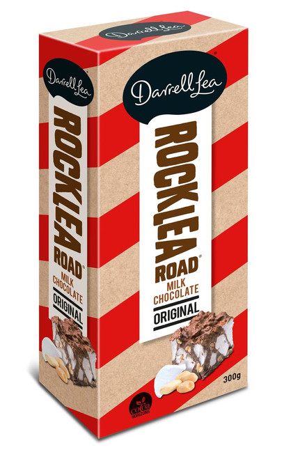 Darrell Lea Rocklea Road - Big block - Milk Chocolate, by Darrell Lea,  and more Confectionery at The Professors Online Lolly Shop. (Image Number :12430)