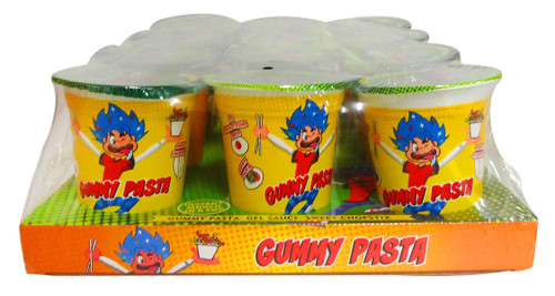 Gummy Pasta and more Confectionery at The Professors Online Lolly Shop. (Image Number :12949)
