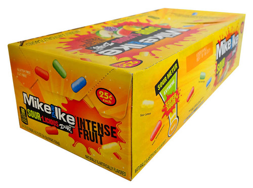 Mike and Ike - Sour-Licious Zours, by Just Born,  and more Confectionery at The Professors Online Lolly Shop. (Image Number :12972)