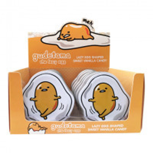 Gudetama The Lazy Egg and more Confectionery at The Professors Online Lolly Shop. (Image Number :12523)