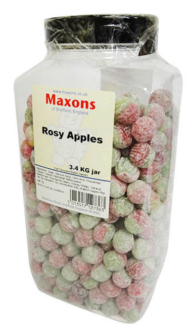 Maxons - Rosey Apples and more Confectionery at The Professors Online Lolly Shop. (Image Number :16626)