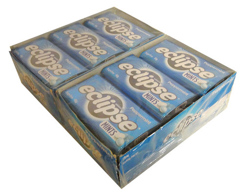 Eclipse Mints - Peppermint, by Wrigley,  and more Confectionery at The Professors Online Lolly Shop. (Image Number :12937)