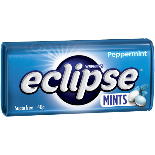 Eclipse Mints - Peppermint - Half Pack, by Wrigley,  and more Confectionery at The Professors Online Lolly Shop. (Image Number :14957)