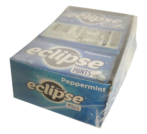 Eclipse Mints - Peppermint - Half Pack ( 6 x 40g Tins in a Display)