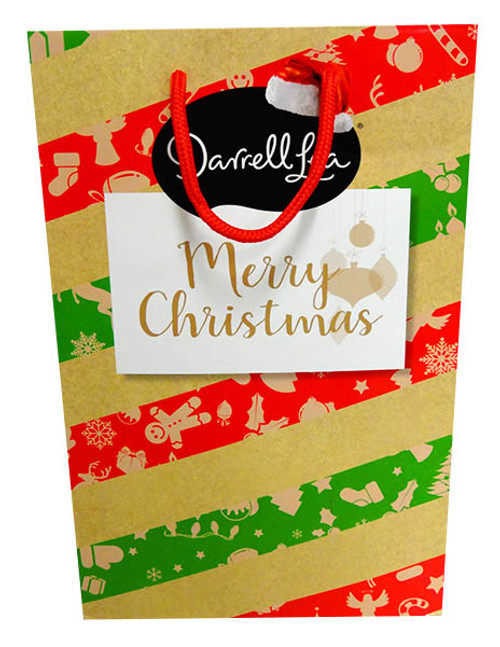 Darrell Lea Christmas Gift Bag, by Darrell Lea,  and more Confectionery at The Professors Online Lolly Shop. (Image Number :13951)