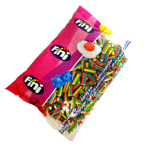 Mini Wonder Bar Cables, by Fini,  and more Confectionery at The Professors Online Lolly Shop. (Image Number :16757)