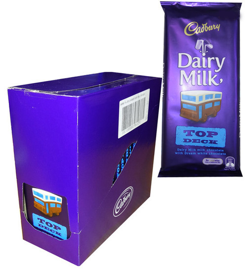 Cadbury Top Deck, by Cadbury,  and more Confectionery at The Professors Online Lolly Shop. (Image Number :12767)