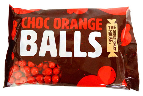 Confectionery House Choc Orange Balls, by Confectionery House,  and more Confectionery at The Professors Online Lolly Shop. (Image Number :13111)