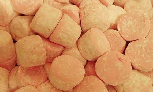Pascall Pink Marshmallow Cylinders - Short Date Special 15/08/2019, by Pascall,  and more Confectionery at The Professors Online Lolly Shop. (Image Number :12797)