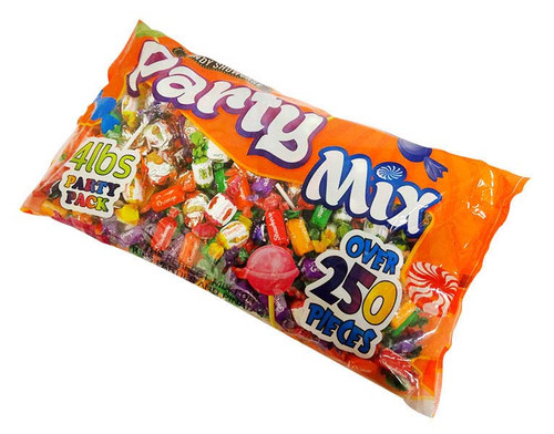 Candy Showcase Wrapped Party Mix and more Confectionery at The Professors Online Lolly Shop. (Image Number :16598)
