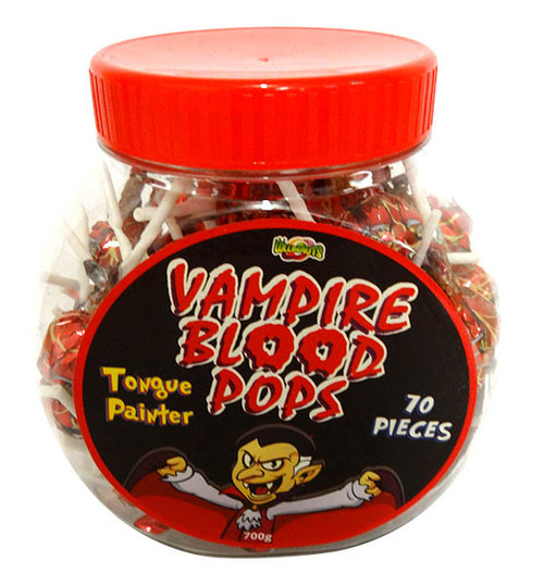 Vampire Blood Pop Jar and more Confectionery at The Professors Online Lolly Shop. (Image Number :17134)